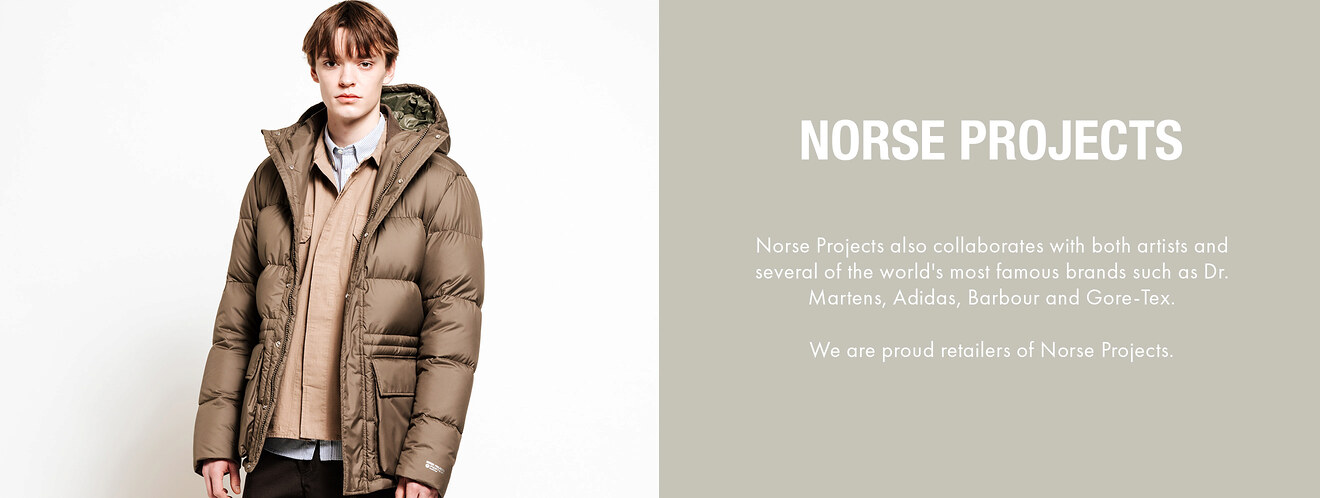 Norse Projects på Zoovillage