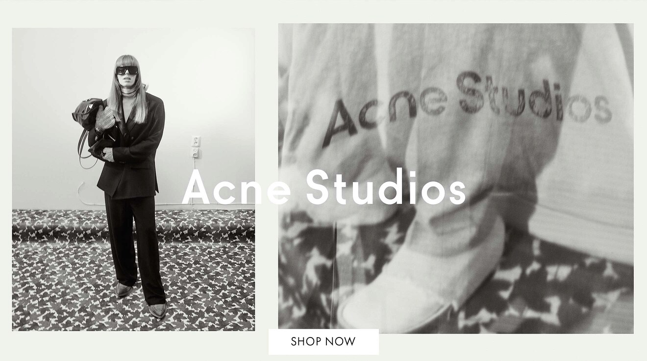 Nyheder fra Acne Studios på Zoovillage
