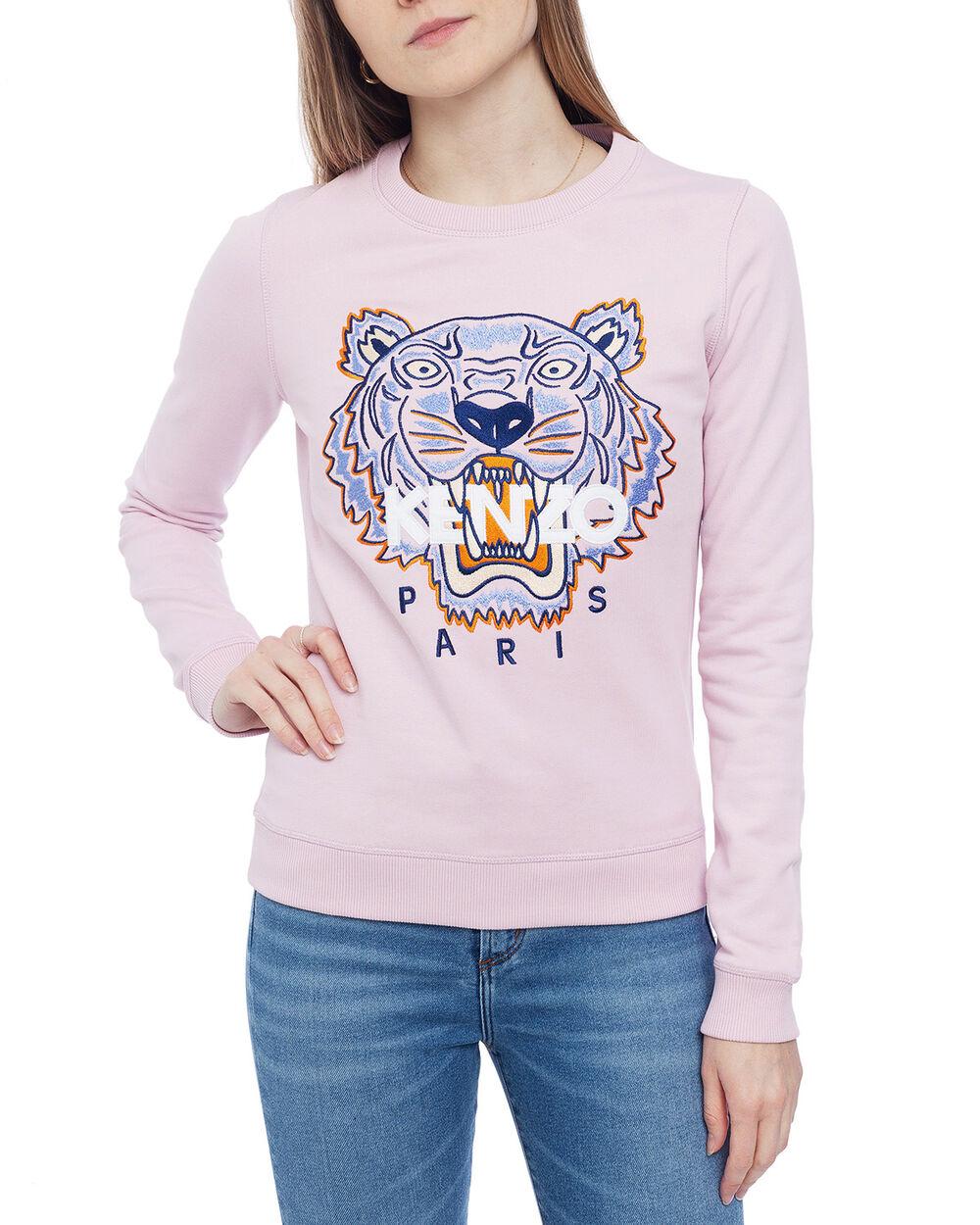 Tiger Sweatshirt Faded Pink