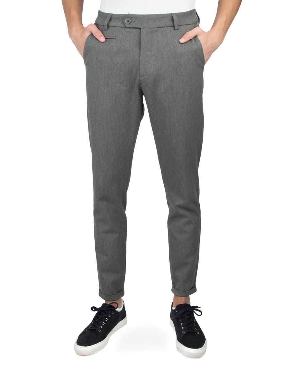 Grå Les Deux Como Suit Pants Bukse