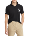 Polo Ralph Lauren Slim Fit Mesh Polo Black
