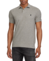 Polo Ralph Lauren Custom Slim Fit Mesh Polo Canterbury Heather