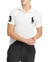 Polo Ralph Lauren Slim Fit Mesh Polo White