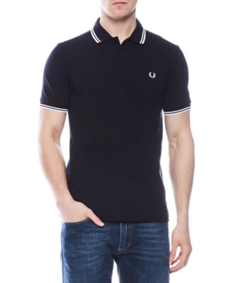 Fred Perry M3600 Twin Tipped FP Shirt Navy