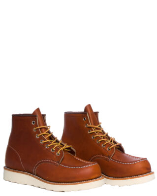 Red Wing Shoes 6-Inch Classic Moc Toe 875 Oro Legacy Leather