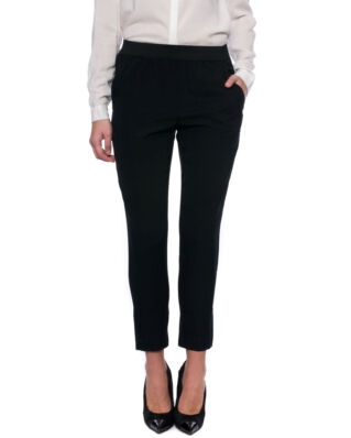 Whyred Blue elastic silk stretch black pants