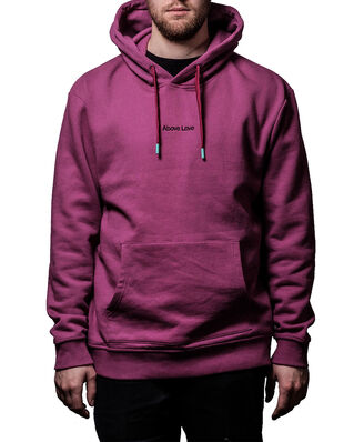 Above Love Hoodie Logo Purple