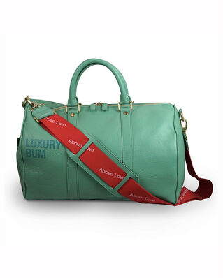 Above Love ABOVE LOVE Weekendbag Luxury Bum Green