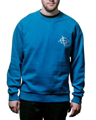 Above Love Ruglan Sweatshirt Elvis Blue