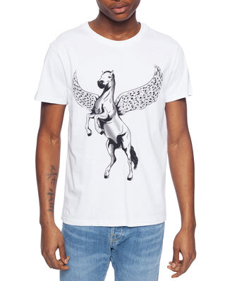 Above Love T-shirt Devil Horse White