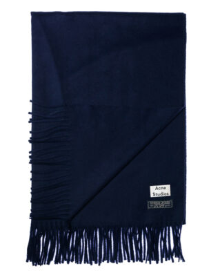 Acne Studios Canada night blue scarf