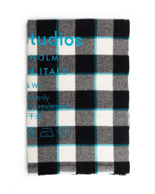 Acne Studios Cassiar Check Black/White