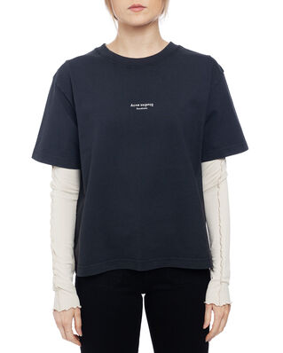 Acne Studios Edie Stamp Black