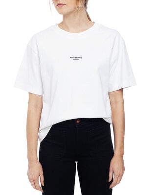 Acne Studios Edie Stamp Optic White