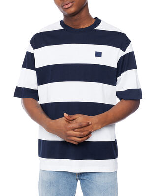 Acne Studios Erian Stripe Face Navy/white