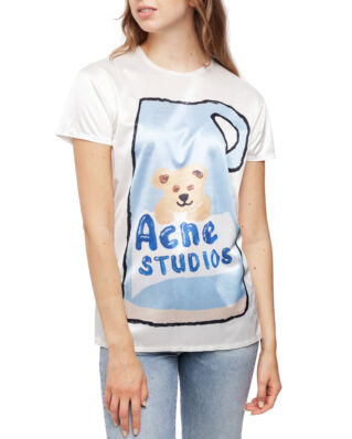 Acne Studios Erry Synthetic Placed Print Blue/Multi