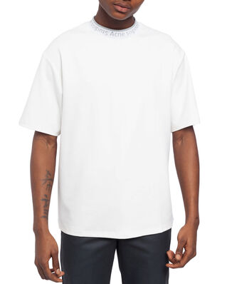 Acne Studios Extorr Logo Rib Optic White