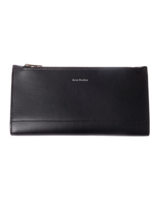 Acne Studios Continental Fold Wallet Black