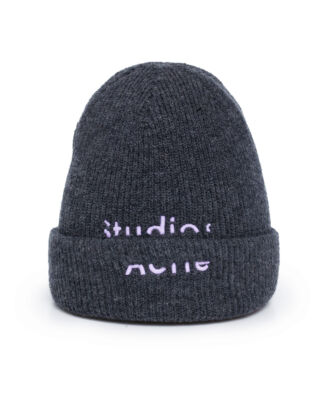 Acne Studios Kreed Sporty Wool Dark Grey Melange