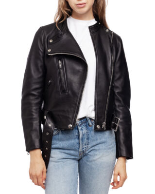 Acne Studios Motorcycle Jacket Black