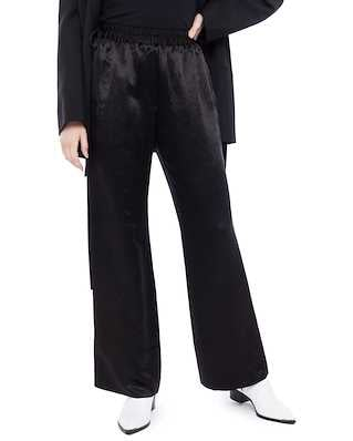Acne Studios Pame Fluid Satin Black