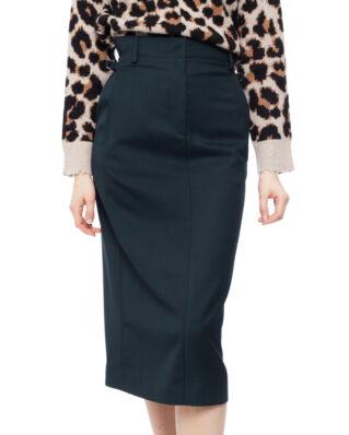 Acne Studios Paper-Bag Skirt Deep Green