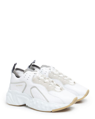 Acne Studios Rockaway Leather White