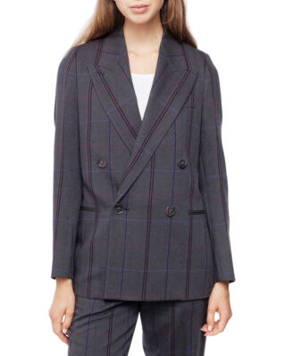 Acne Studios SJA02 Hb Suit Grey/Purple