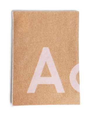 Acne Studios Toronty Logo Pink/Beige