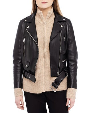 Acne Studios Mock Leather Outerwear Black