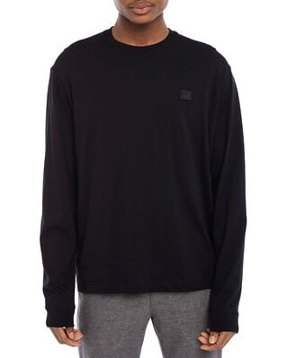 Acne Studios Long Sleeve Face T-shirt Black