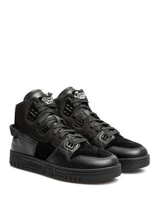 Acne Studios 08 STHLM High Top Sneaker Black