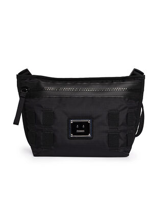 Acne Studios Logo Crossbody Bag Black