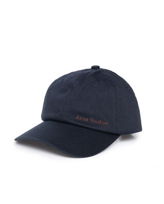 Acne Studios Carliy Cotton Twill Black