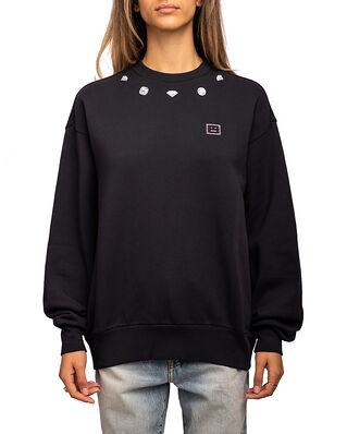 Acne Studios Diamond Face Sweater Navy