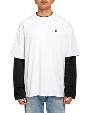 Acne Studios Eeve Long Sleeve T-Shirt Optic White