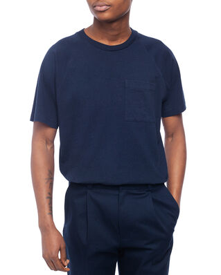 Acne Studios Emeril Reverse Label Navy Blue