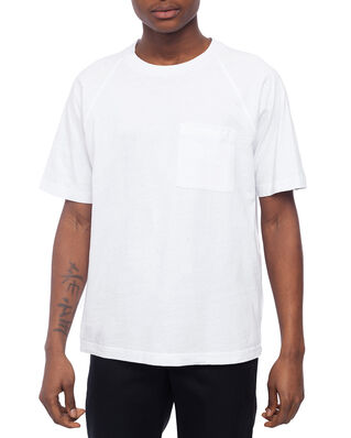 Acne Studios Emeril Reverse Label Optic White