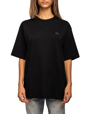 Acne Studios Exford Face T-Shirt Black