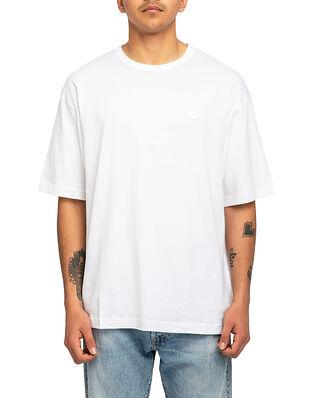 Acne Studios Exford Face T-Shirt Optic White