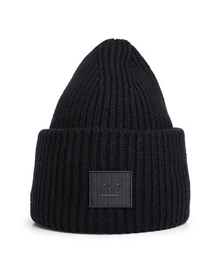 Acne Studios Face Hat Black