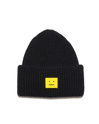 Acne Studios Face Hat Black/Yellow