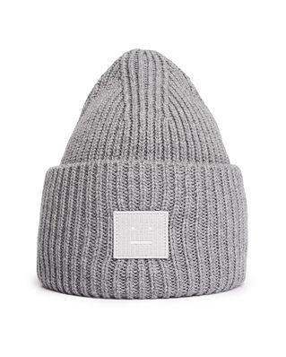 Acne Studios Face Hat Grey Melange