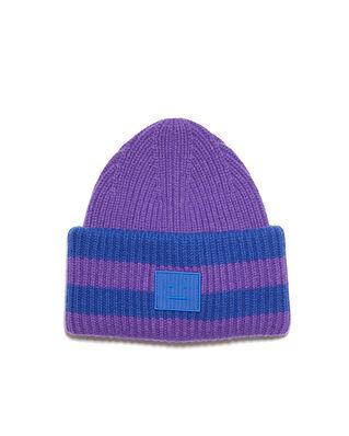 Acne Studios Face Hat Purple/Blue