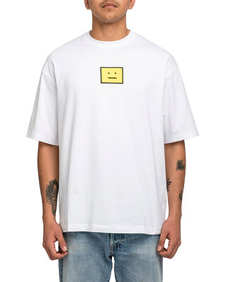 Acne Studios Face T-Shirt Optic White