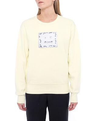 Acne Studios Fairah Crew Sweatshirt Gold