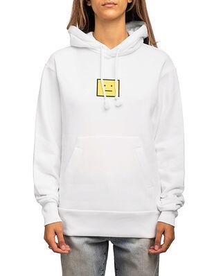 Acne Studios Fennis Hooded Sweatshirt Optic White