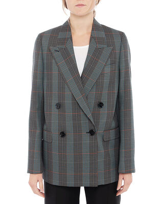 Acne Studios Janny Check Suiting Blue/Orange