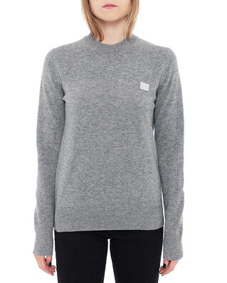 Acne Studios Kalon Face Grey Melange