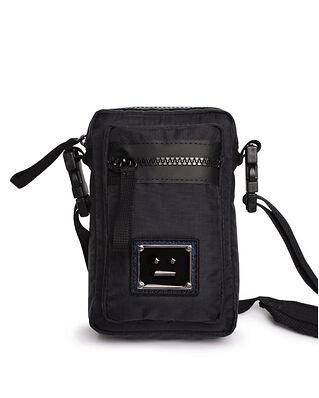 Acne Studios Logo Plaque Pocket Bag Black